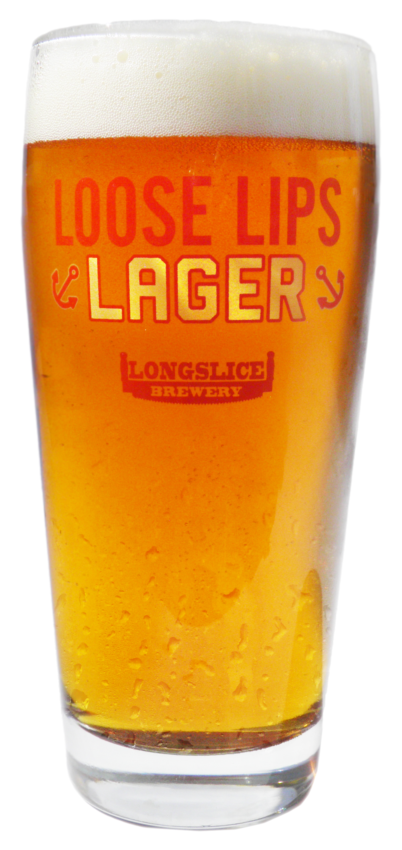 Loose Lips, Longslice, pint, lager